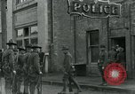 Image of National Guard troops patrol after Armistice Day incident Centralia Washington USA, 1919, second 33 stock footage video 65675052001