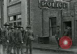 Image of National Guard troops patrol after Armistice Day incident Centralia Washington USA, 1919, second 34 stock footage video 65675052001