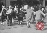 Image of Santa Claus Upper Darby Pennsylvania USA, 1930, second 40 stock footage video 65675052018