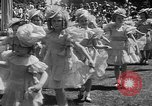 Image of May Day Queen crowning San Francisco California USA, 1937, second 24 stock footage video 65675052019