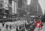 Image of memorial of Francis P Duffy New York City USA, 1937, second 13 stock footage video 65675052022