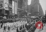 Image of memorial of Francis P Duffy New York City USA, 1937, second 14 stock footage video 65675052022