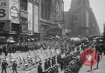 Image of memorial of Francis P Duffy New York City USA, 1937, second 15 stock footage video 65675052022