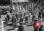 Image of memorial of Francis P Duffy New York City USA, 1937, second 16 stock footage video 65675052022
