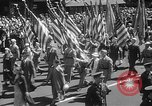 Image of memorial of Francis P Duffy New York City USA, 1937, second 18 stock footage video 65675052022