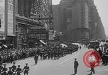 Image of memorial of Francis P Duffy New York City USA, 1937, second 23 stock footage video 65675052022