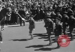 Image of memorial of Francis P Duffy New York City USA, 1937, second 24 stock footage video 65675052022