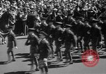 Image of memorial of Francis P Duffy New York City USA, 1937, second 25 stock footage video 65675052022