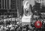 Image of memorial of Francis P Duffy New York City USA, 1937, second 36 stock footage video 65675052022