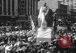 Image of memorial of Francis P Duffy New York City USA, 1937, second 38 stock footage video 65675052022
