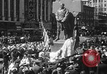 Image of memorial of Francis P Duffy New York City USA, 1937, second 39 stock footage video 65675052022