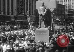 Image of memorial of Francis P Duffy New York City USA, 1937, second 40 stock footage video 65675052022