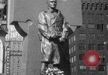 Image of memorial of Francis P Duffy New York City USA, 1937, second 41 stock footage video 65675052022