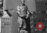 Image of memorial of Francis P Duffy New York City USA, 1937, second 42 stock footage video 65675052022