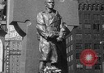 Image of memorial of Francis P Duffy New York City USA, 1937, second 43 stock footage video 65675052022