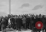 Image of Golden rivet completing the Golden Gate bridge San Francisco California USA, 1937, second 17 stock footage video 65675052024