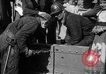Image of Golden rivet completing the Golden Gate bridge San Francisco California USA, 1937, second 33 stock footage video 65675052024