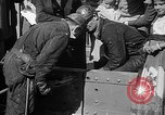 Image of Golden rivet completing the Golden Gate bridge San Francisco California USA, 1937, second 35 stock footage video 65675052024