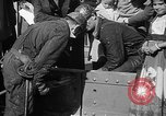 Image of Golden rivet completing the Golden Gate bridge San Francisco California USA, 1937, second 36 stock footage video 65675052024