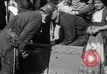 Image of Golden rivet completing the Golden Gate bridge San Francisco California USA, 1937, second 37 stock footage video 65675052024
