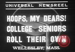 Image of college girls Wellesley Massachusetts USA, 1937, second 5 stock footage video 65675052026