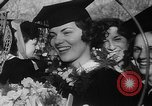 Image of college girls Wellesley Massachusetts USA, 1937, second 39 stock footage video 65675052026