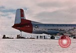 Image of aircraft C 124 Antarctica, 1956, second 3 stock footage video 65675052038