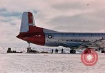 Image of aircraft C 124 Antarctica, 1956, second 5 stock footage video 65675052038