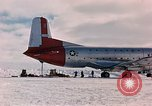 Image of aircraft C 124 Antarctica, 1956, second 9 stock footage video 65675052038
