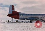 Image of aircraft C 124 Antarctica, 1956, second 11 stock footage video 65675052038