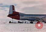 Image of aircraft C 124 Antarctica, 1956, second 13 stock footage video 65675052038
