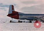 Image of aircraft C 124 Antarctica, 1956, second 15 stock footage video 65675052038