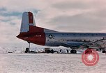 Image of aircraft C 124 Antarctica, 1956, second 16 stock footage video 65675052038