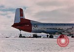 Image of aircraft C 124 Antarctica, 1956, second 18 stock footage video 65675052038
