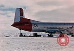 Image of aircraft C 124 Antarctica, 1956, second 19 stock footage video 65675052038