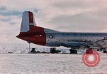 Image of aircraft C 124 Antarctica, 1956, second 21 stock footage video 65675052038