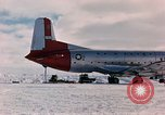 Image of aircraft C 124 Antarctica, 1956, second 23 stock footage video 65675052038