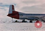 Image of aircraft C 124 Antarctica, 1956, second 26 stock footage video 65675052038
