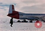 Image of aircraft C 124 Antarctica, 1956, second 31 stock footage video 65675052038