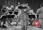 Image of Armed Forces Radio Jubilee show World War 2 California United States USA, 1944, second 42 stock footage video 65675052082