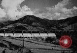 Image of roadway and dam San Juan Puerto Rico, 1935, second 26 stock footage video 65675052103