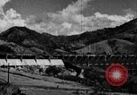 Image of roadway and dam San Juan Puerto Rico, 1935, second 29 stock footage video 65675052103