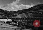 Image of roadway and dam San Juan Puerto Rico, 1935, second 31 stock footage video 65675052103