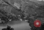 Image of roadway and dam San Juan Puerto Rico, 1935, second 52 stock footage video 65675052103