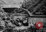 Image of roadway and dam San Juan Puerto Rico, 1935, second 59 stock footage video 65675052103
