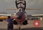 Image of aircraft T-2C Beeville Texas Naval Air Station Chase Field USA, 1982, second 22 stock footage video 65675052116