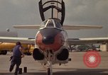 Image of aircraft T-2C Beeville Texas Naval Air Station Chase Field USA, 1982, second 23 stock footage video 65675052116