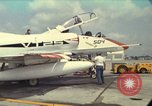 Image of aircraft TA-4J Beeville Texas Naval Air Station Chase Field USA, 1982, second 1 stock footage video 65675052119