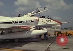 Image of aircraft TA-4J Beeville Texas Naval Air Station Chase Field USA, 1982, second 2 stock footage video 65675052119