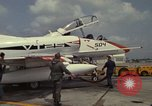 Image of aircraft TA-4J Beeville Texas Naval Air Station Chase Field USA, 1982, second 6 stock footage video 65675052119